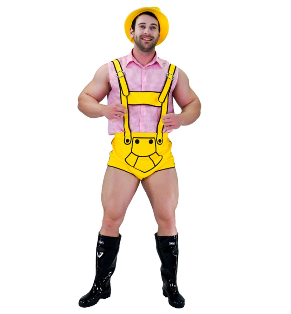 Male stripper costume ideas
