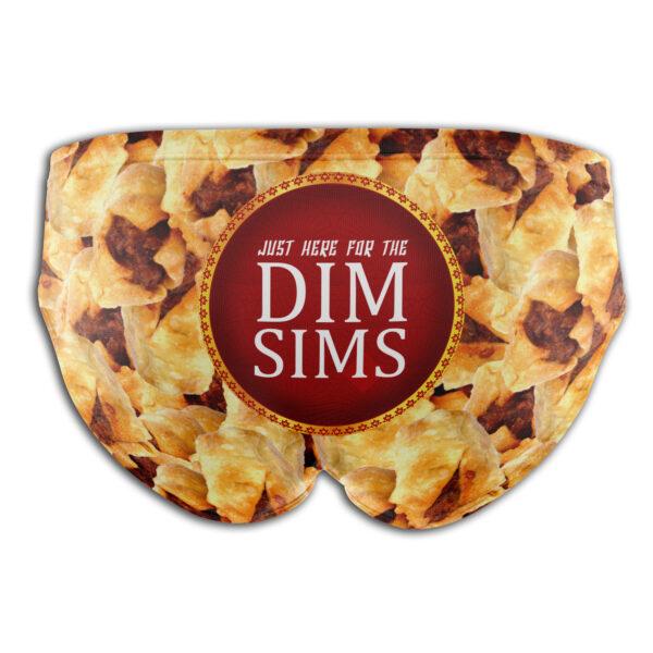 Dim Sims Dick Stickers